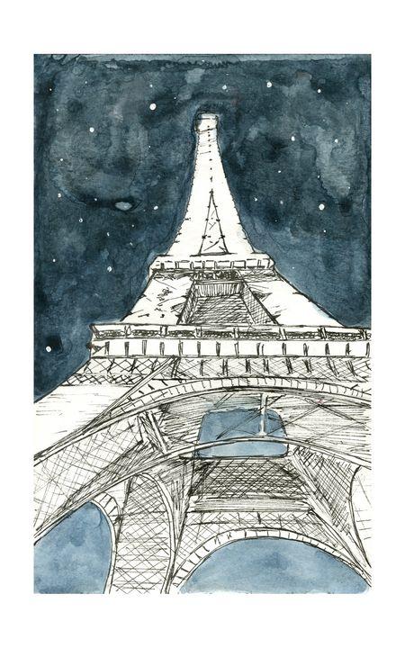 Eiffel Tower - Steven J. Ho