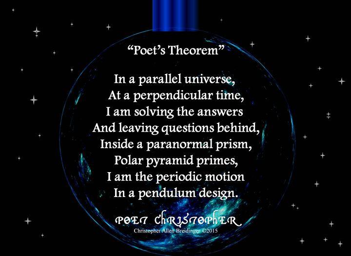 Poet's Theorem - Poet Christopher