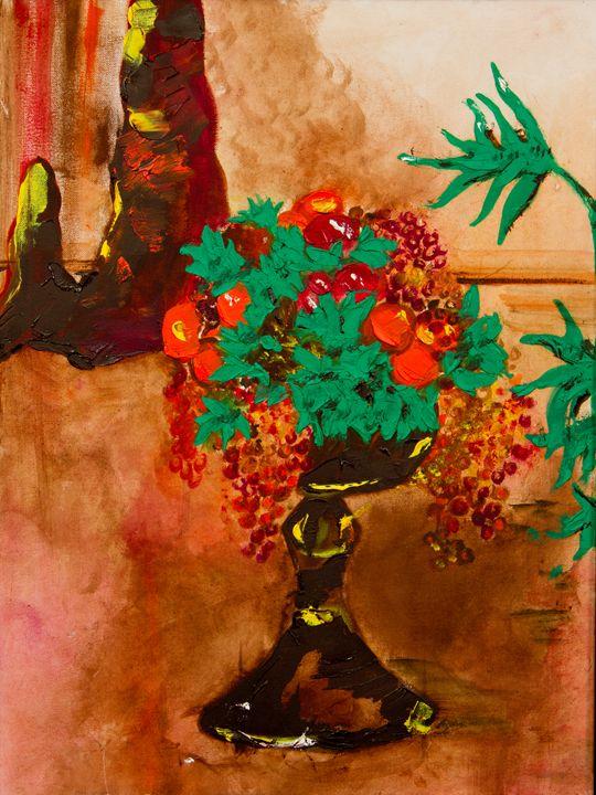 leaves and grapes - Ryanne Bevenger