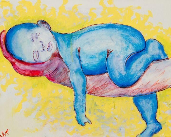 sleepng baby - Ryanne Bevenger