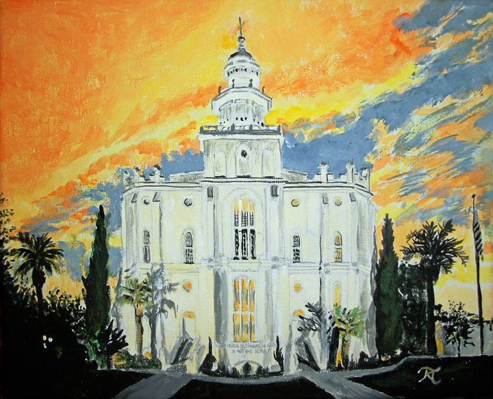 St George LDS Temple - Bekablo Creations
