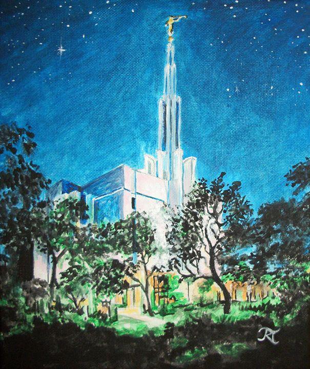 Tokyo Japan LDS Temple - Bekablo Creations