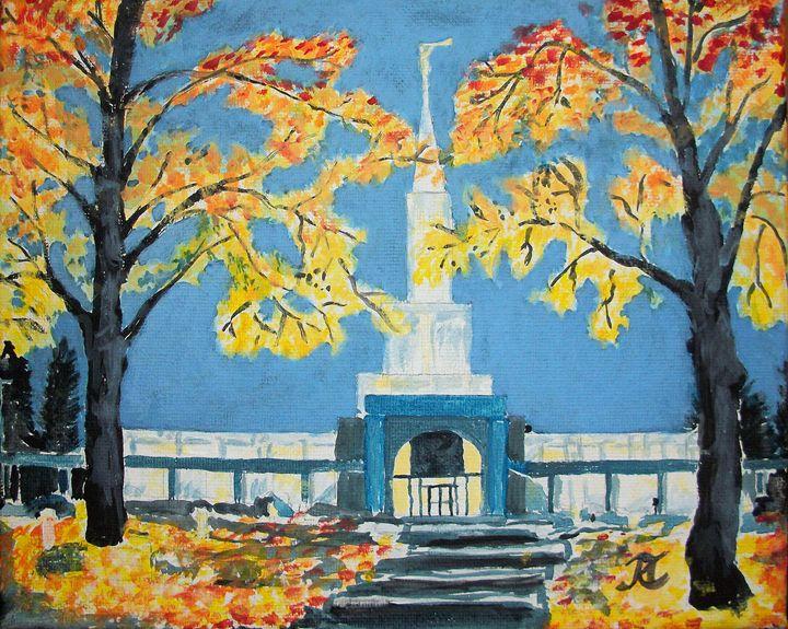 Toronto Canada LDS Temple - Bekablo Creations