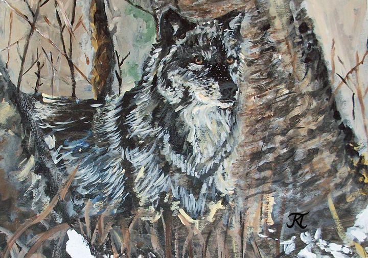 Wolf in the Woods - Bekablo Creations