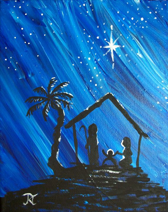 Nativity Starscape - Bekablo Creations