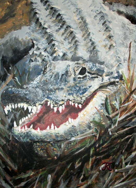 Gray Alligator - Bekablo Creations