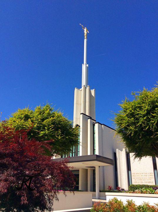 Atlanta Georgia LDS Temple May Day - Bekablo Creations
