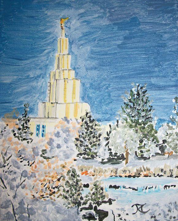 Idaho Falls Idaho LDS Temple - Bekablo Creations