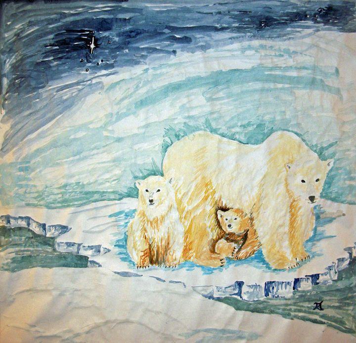Polar Bear Float - Bekablo Creations