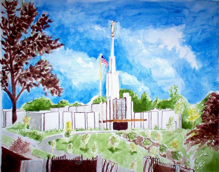 Atlanta Georgia LDS Temple First Day - Bekablo Creations