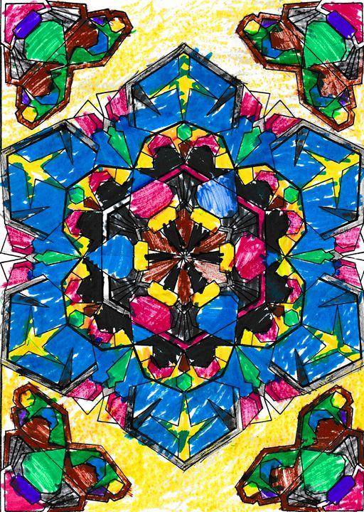 Shrine of colors - Bekablo Creations