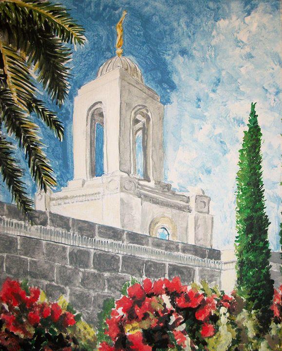Newport Beach California LDS Temple - Bekablo Creations