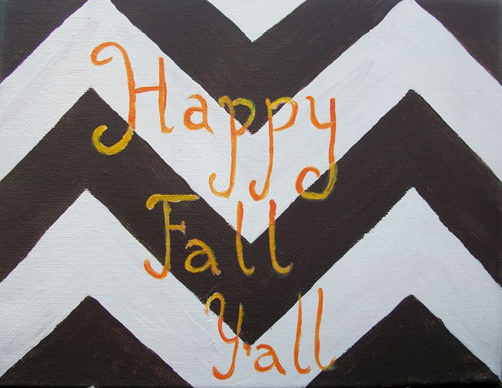 Happy Fall, Y'all - Bekablo Creations