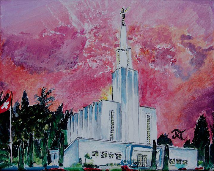 Bern Switzerland LDS Temple - Bekablo Creations