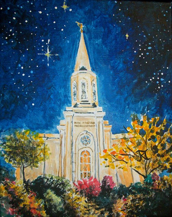 St Louis Missouri LDS Temple - Bekablo Creations
