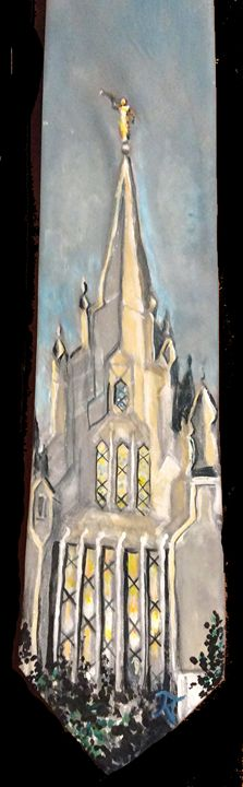 San Diego, CA LDS Temple Tie - Bekablo Creations