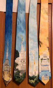 4 LDS Temple Ties - Bekablo Creations