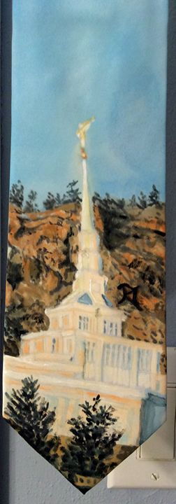 Billings Montana LDS Temple Tie - Bekablo Creations