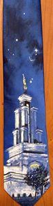 San Antonio TX LDS Temple Tie - Bekablo Creations