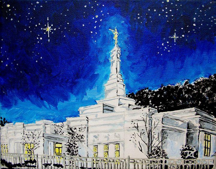Birmingham Alabama LDS Temple - Bekablo Creations