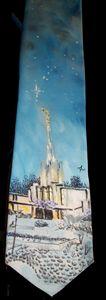 Atlanta GA LDS Temple Tie - Bekablo Creations