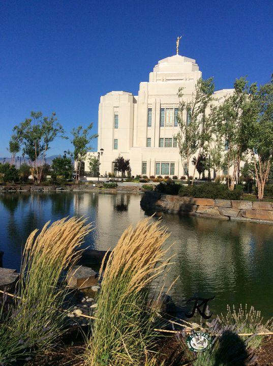 Meridian, ID LDS Temple Waving Grass - Bekablo Creations