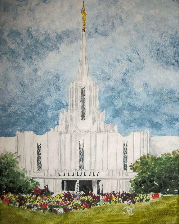 Jordan River Utah LDS Temple - Bekablo Creations