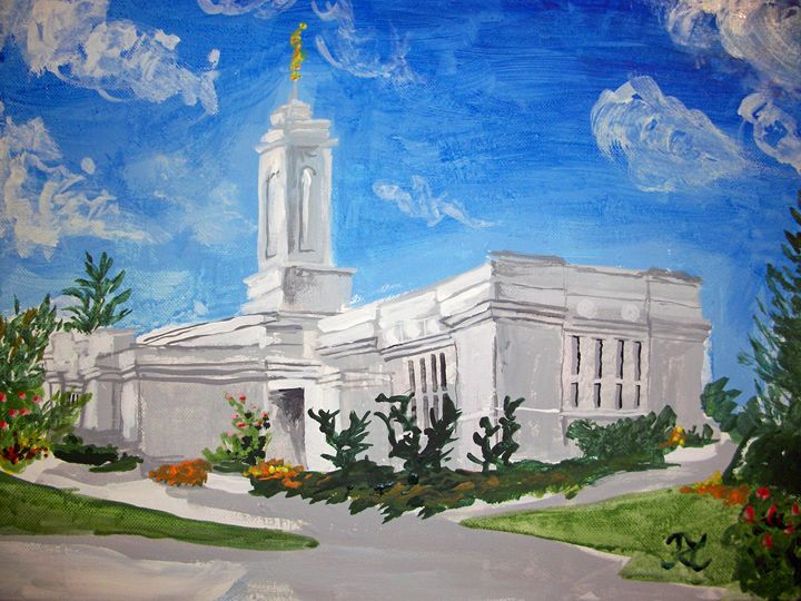 Colonia Juarez Mexico LDS Temple - Bekablo Creations
