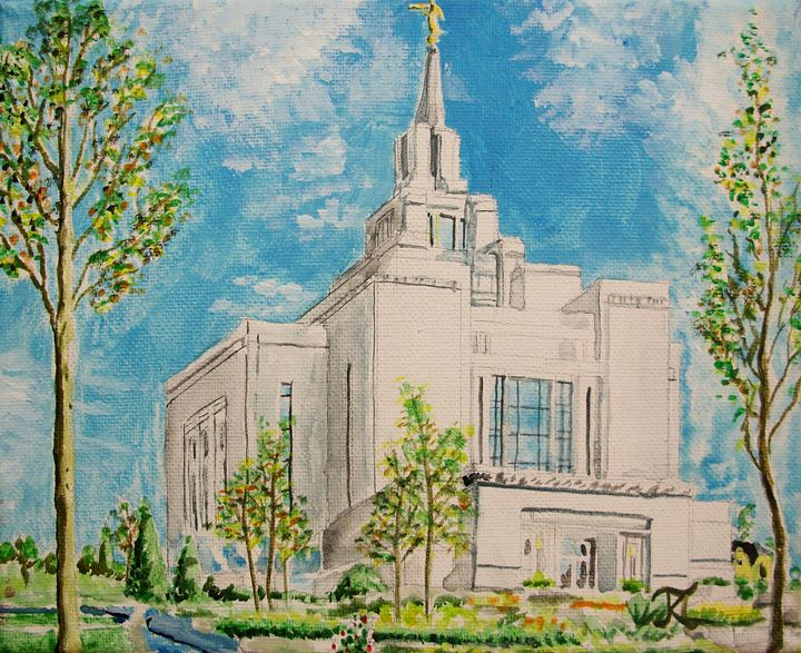 Kyiv Ukraine LDS Temple - Bekablo Creations