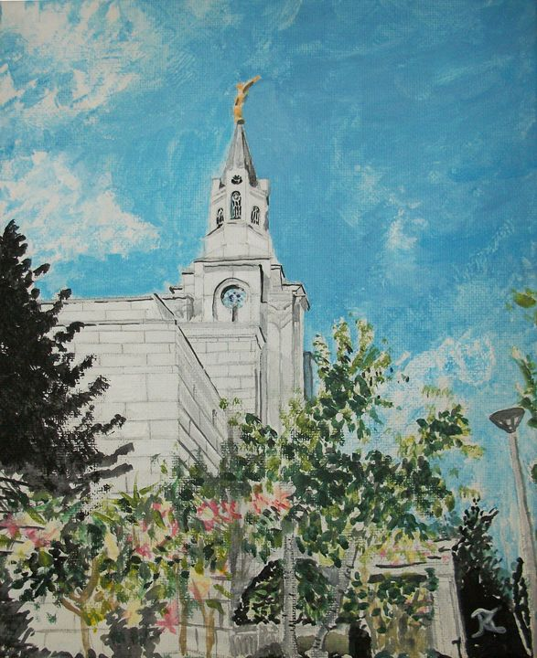 Boston Massachusetts LDS Temple - Bekablo Creations