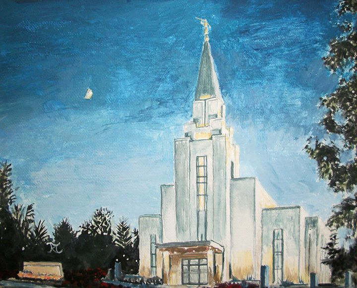 Vancouver Canada LDS Temple - Bekablo Creations