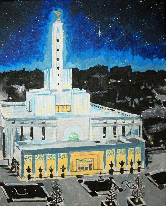 Madrid Spain LDS Temple - Bekablo Creations