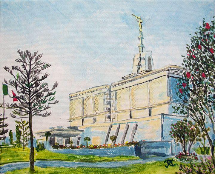 Mexico City DF LDS Temple - Bekablo Creations
