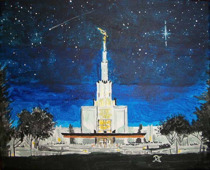 Denver Colorado LDS Temple - Bekablo Creations