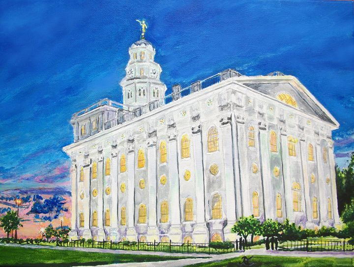 Nauvoo Illinois LDS Temple - Bekablo Creations
