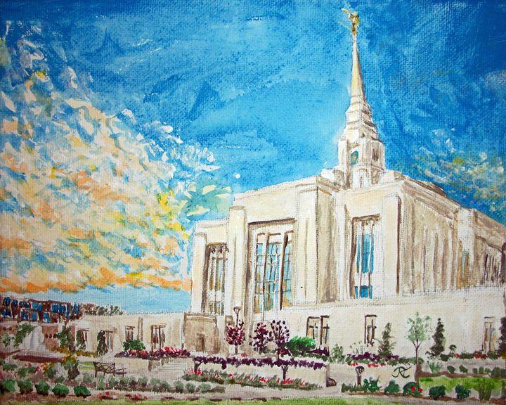 Ogden Utah LDS Temple - Bekablo Creations