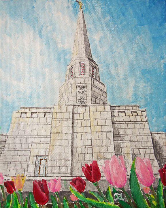 Preston England UK LDS Temple - Bekablo Creations