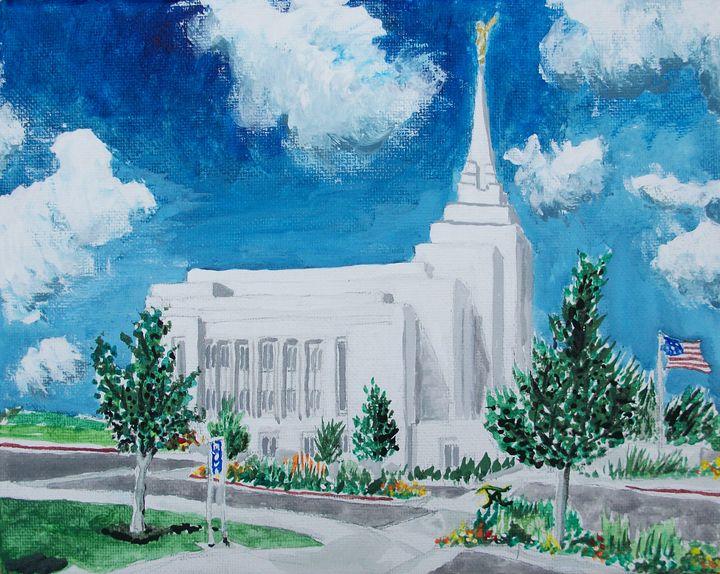 Rexburg Idaho LDS Temple - Bekablo Creations