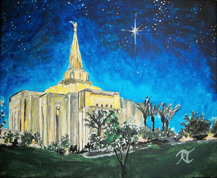 Gilbert Arizona LDS Temple - Bekablo Creations