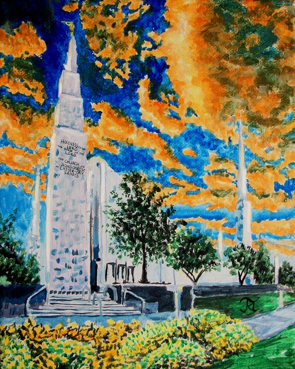 Boise Idaho LDS Temple - Bekablo Creations