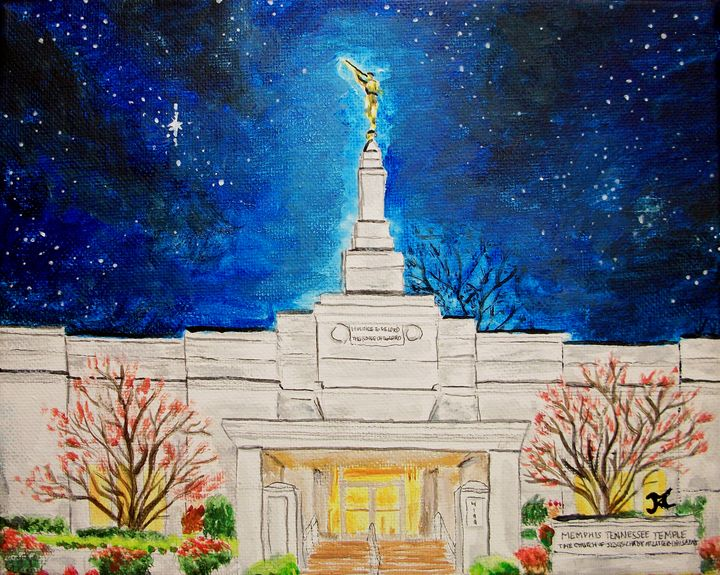 Memphis Tennesee LDS Temple Stars - Bekablo Creations