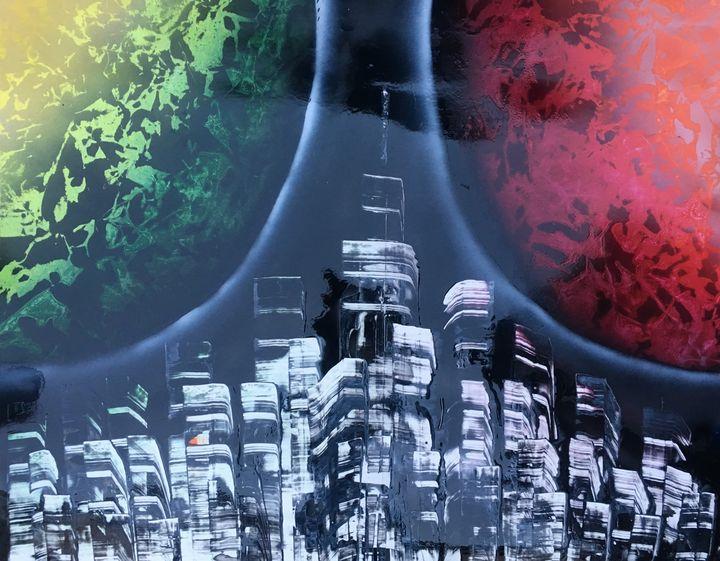 Night City - Cosmic Splash