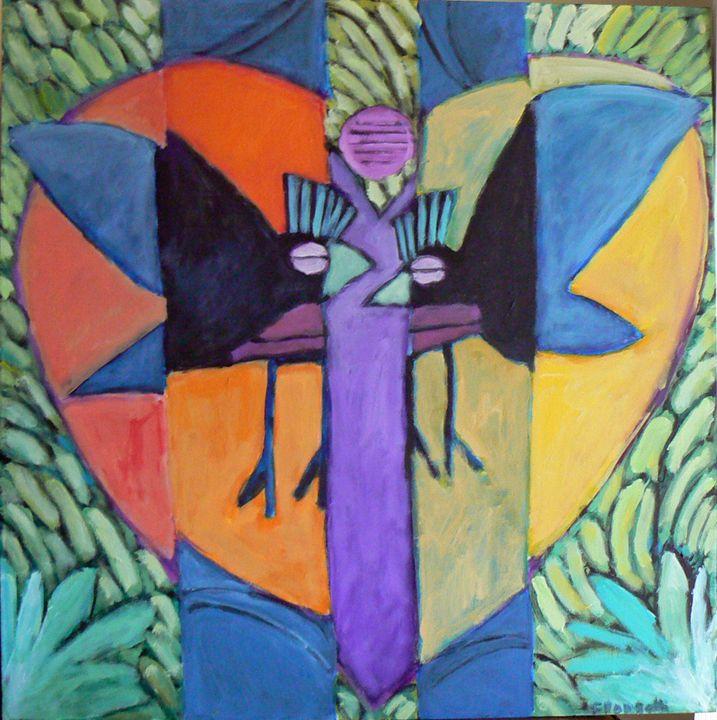 The Breakup - FREDA PONGETTI ORANGE COUNTY FINE ART