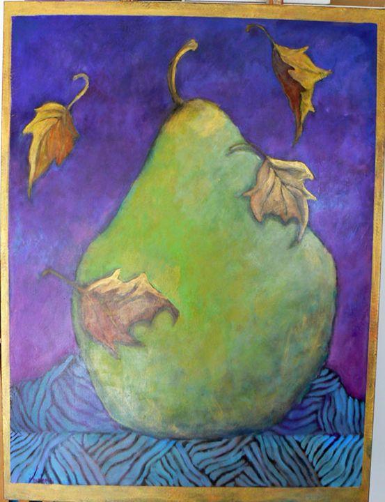 Autumn Pear - FREDA PONGETTI ORANGE COUNTY FINE ART