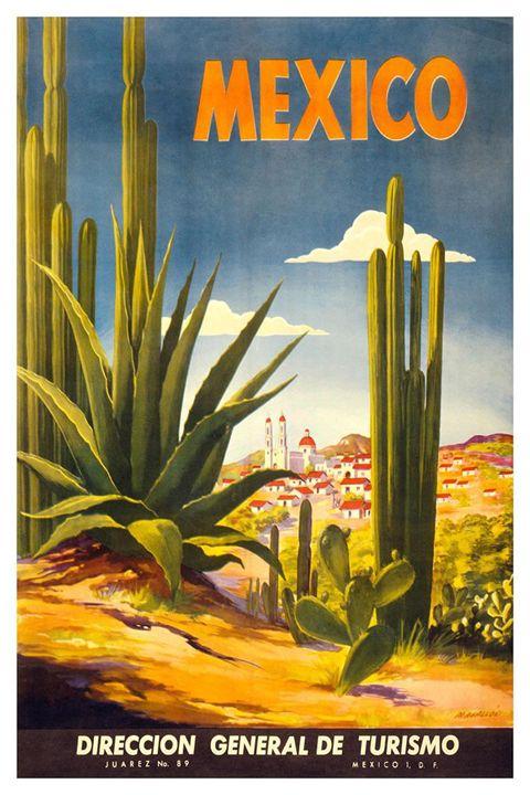 Vintage Ad - Mexico - Donna Ryan