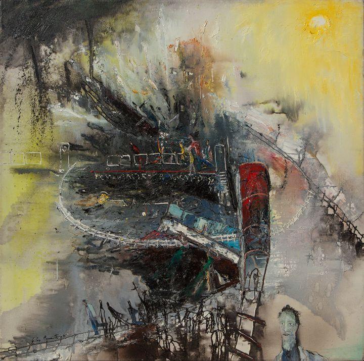 Por el tren - Andes-Gallery