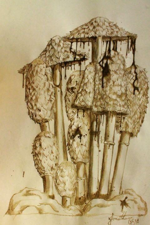 Coprinus comatus - Fungi arts
