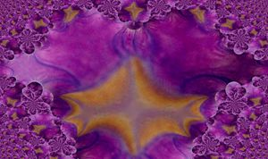 purple flower fractal