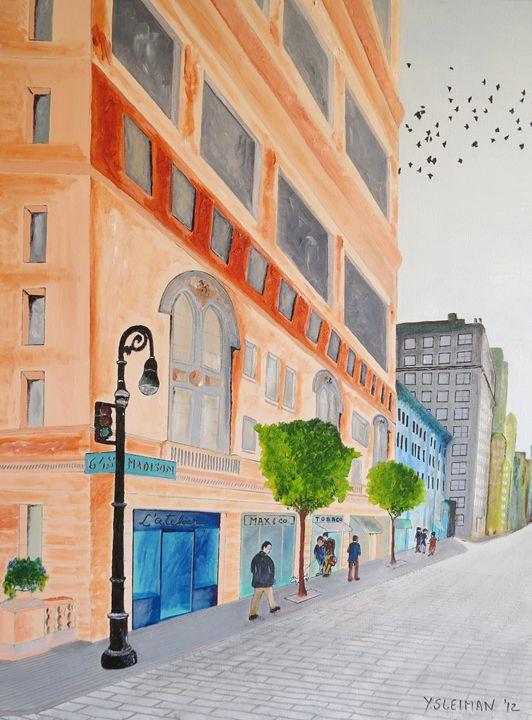 Cityscape - Youssef Sleiman