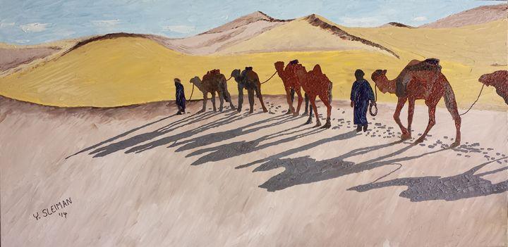 The long journey - Youssef Sleiman